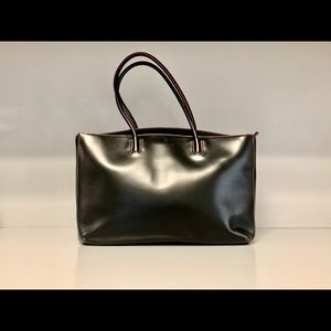 Lodi's Audrey Milano Leather Tote